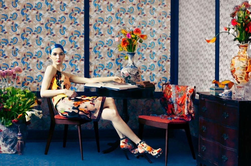 Mary Katrantzou (fashion designer) collection by Erik Madigan Heck