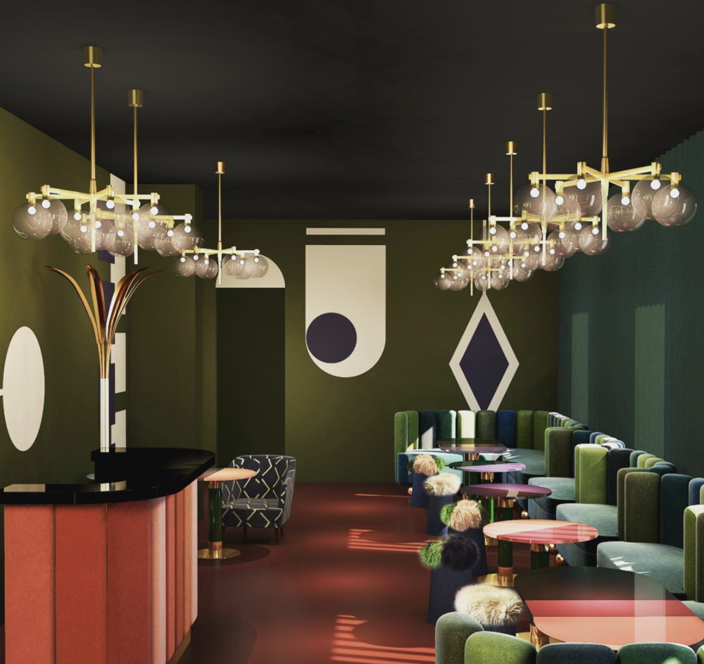 Chez Nina  C lub   created by India Mahdavi