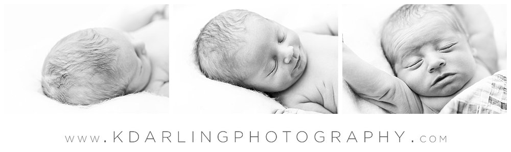 black and white photos of sleeping newborn