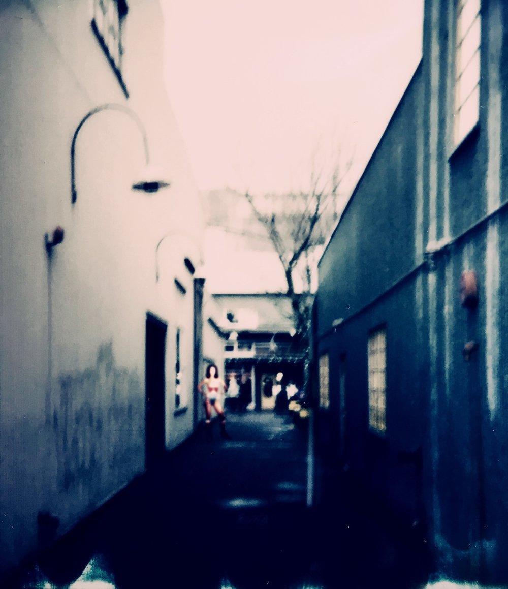 Granville Island Alleyway - 1
