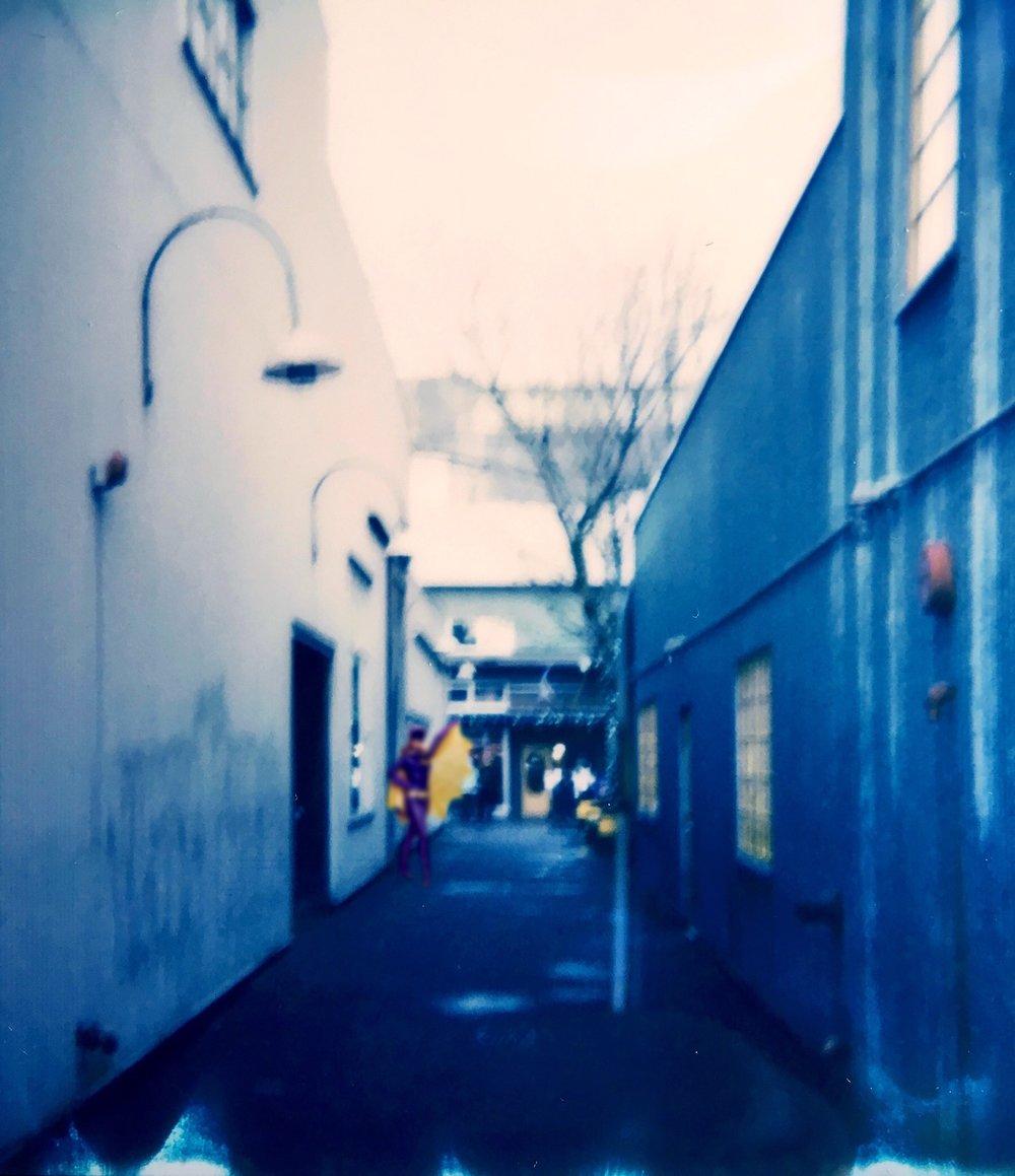 Granville Island Alleyway - 3