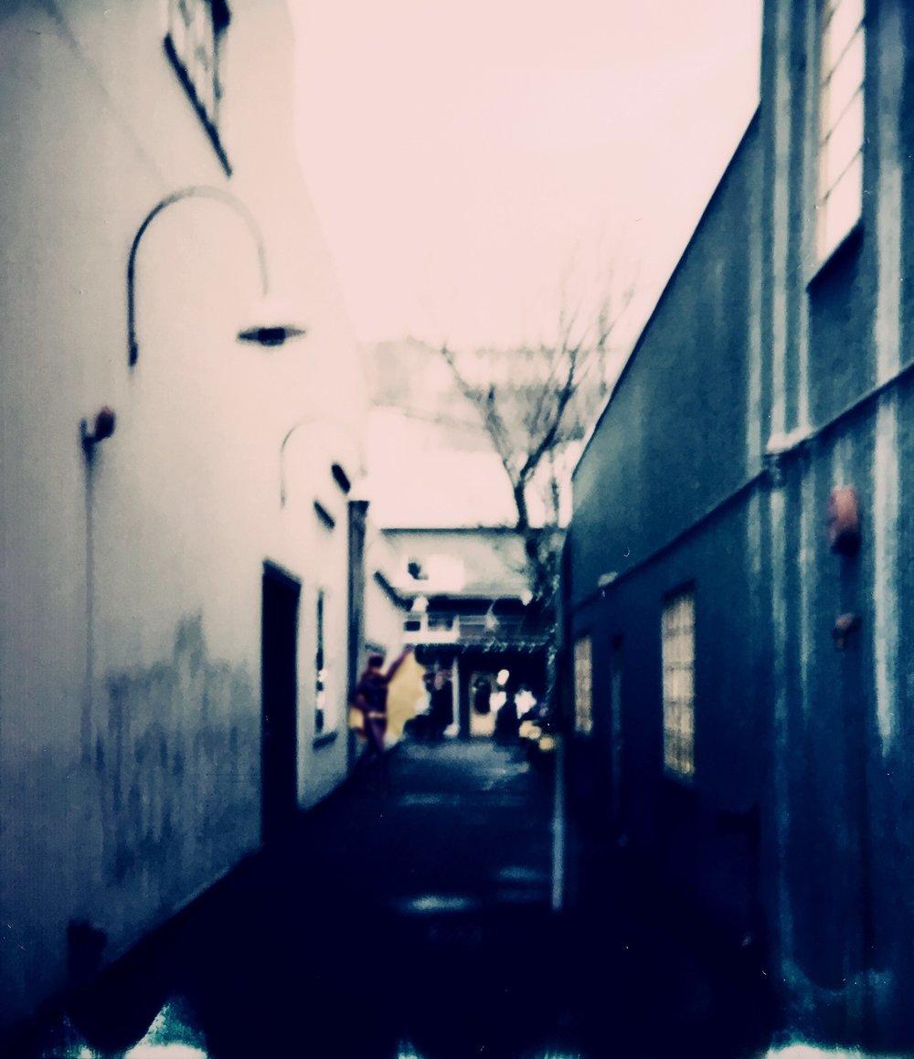 Granville Island Alleyway - 5