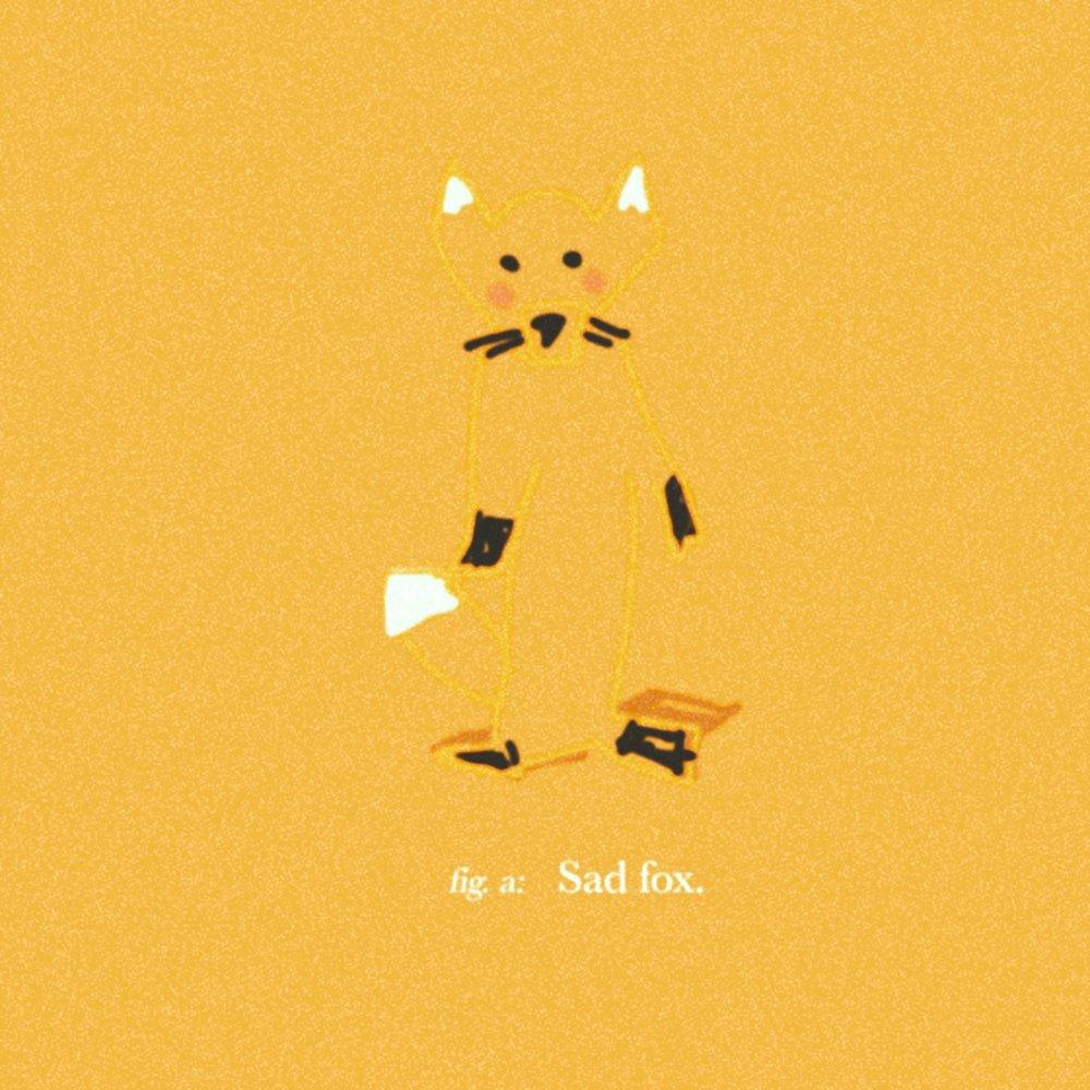 Sad fox.