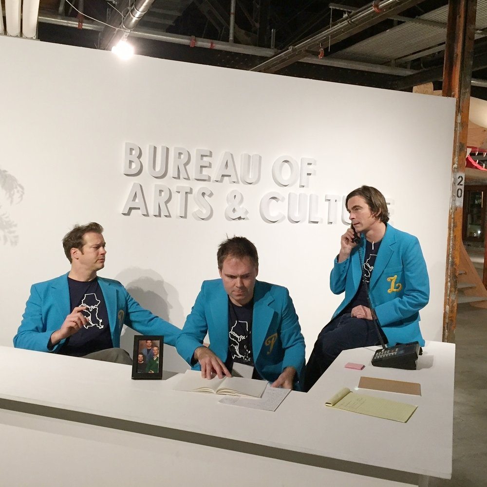PDL at their 2016 exhibit The Bureau of Arts & Culture
