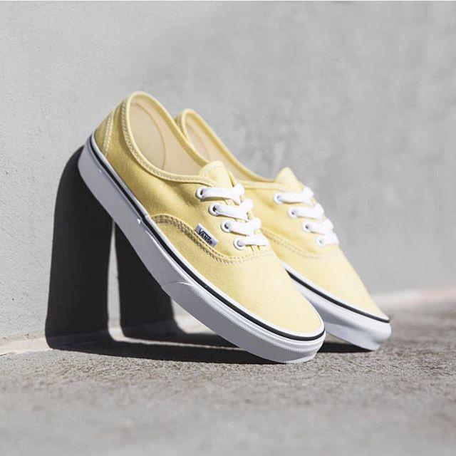 @vansaustralia summer vibes #yellow #vans #vansaustralia #authentic