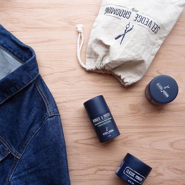 Grooming essentials via @selvedgegrooming_au  #selvedge #mensgrooming #barbershop #barbers #grooming #selvedgedenim