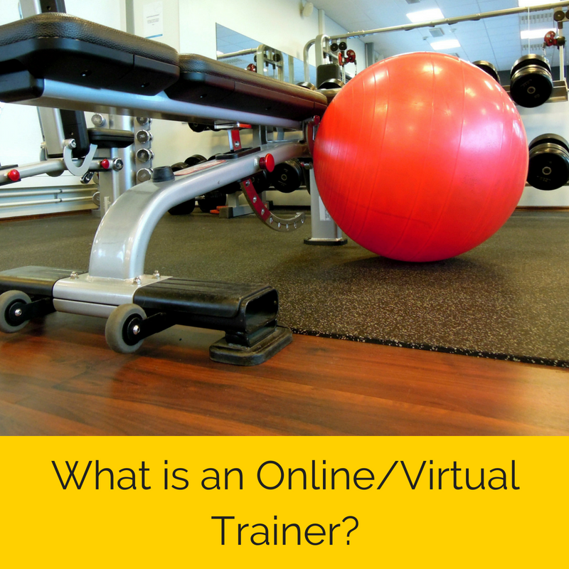 What is an online/virtual personal trainer?