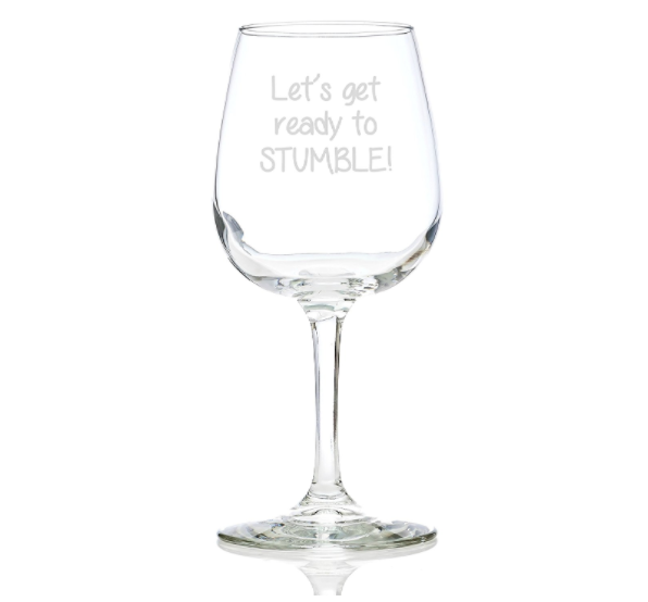 Cute Wine Glass