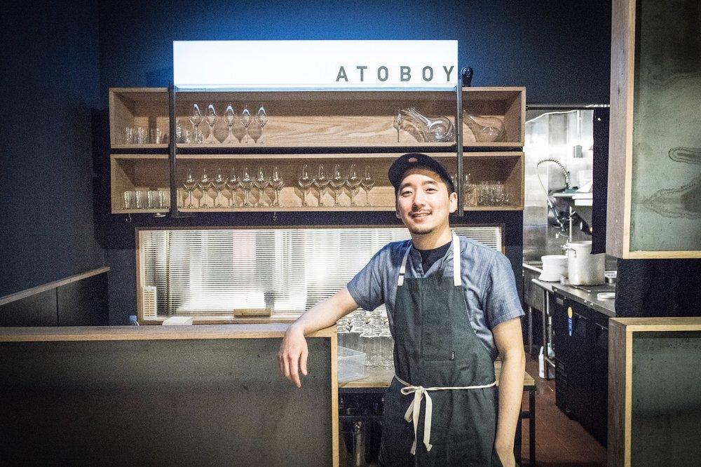Chef Junghyun Park at Atoboy.