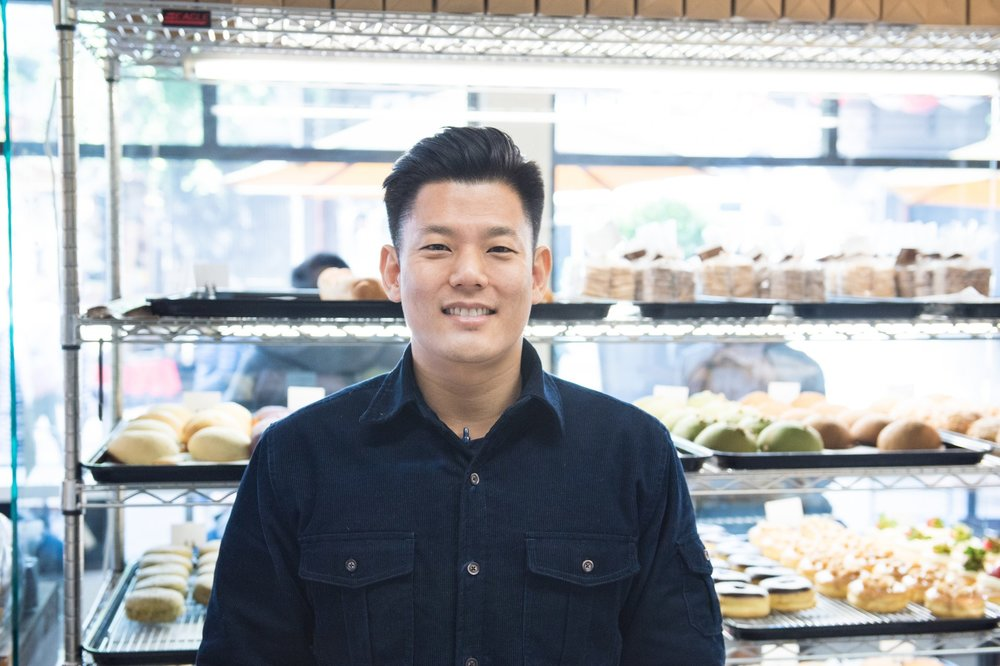 James Choi, owner of Cafe Dulce