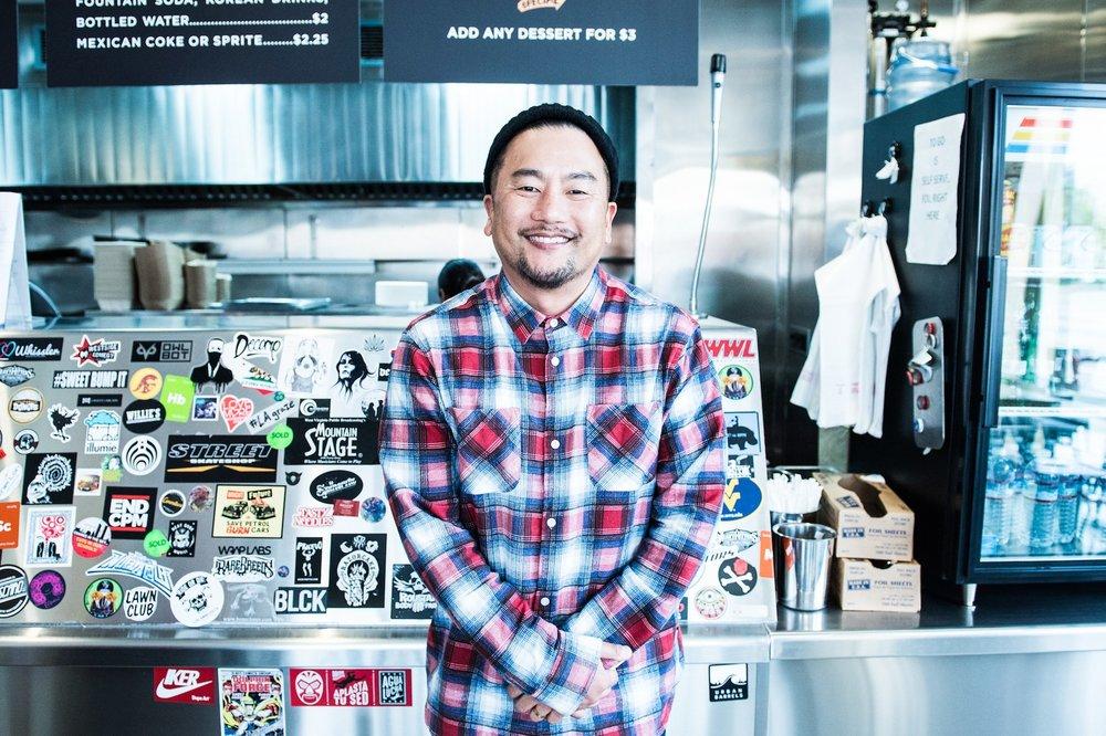 Roy Choi of Kogi, Locol, A-Frame, Chegg, and Pot