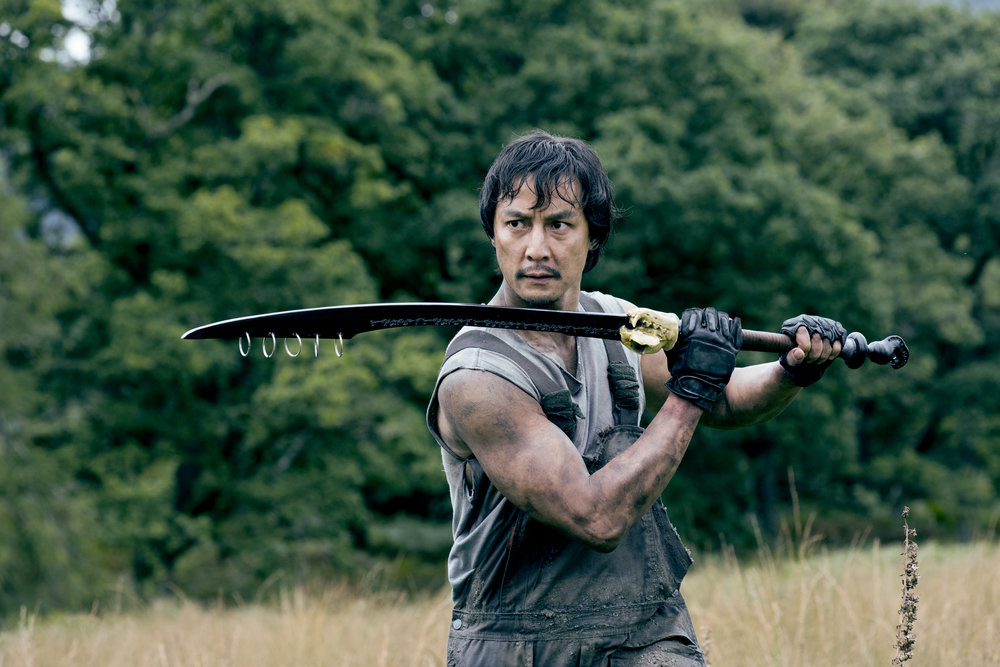 Daniel Wu as Sunny in AMC's Into the Badlands. Source: AMC