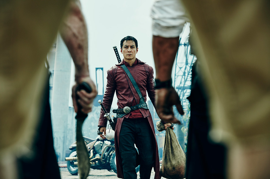 A scene from Into the Badlands in Season 1. Source: AMC