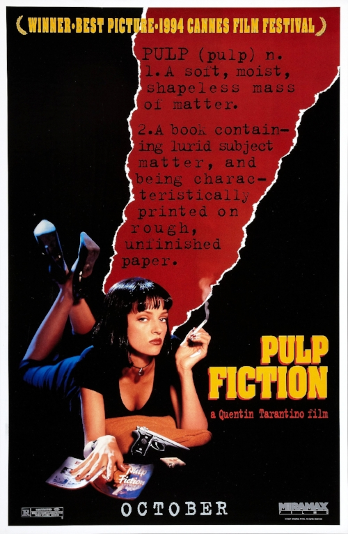 Pulp Fiction movie poster. Source: IMP Awards