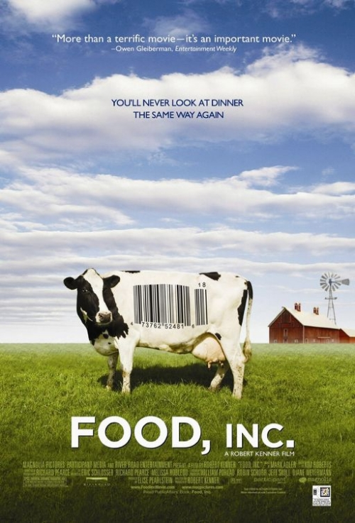 Food, Inc. movie poster. Source: IMP Awards