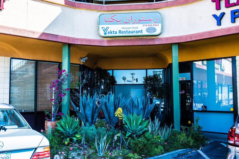 Kato (right)resides In a corner of a strip mall off Santa Monica Boulevard.