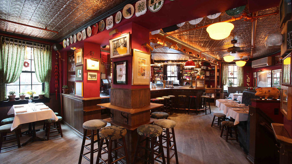 Inside the Spotted Pig. Source: Time Out