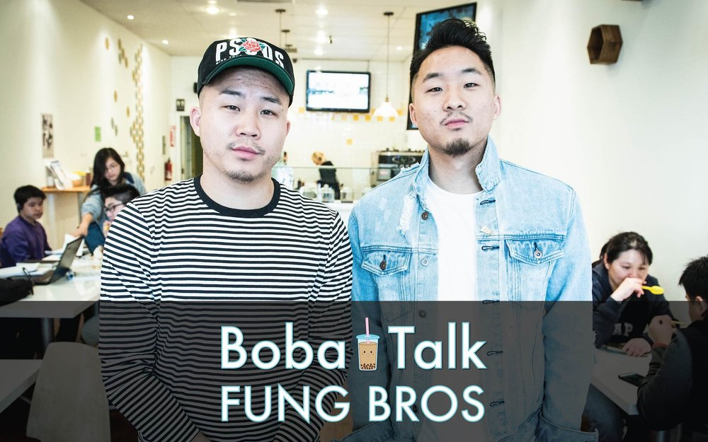 David Fung (left) and Andrew Fung (right)— The Fung Bros