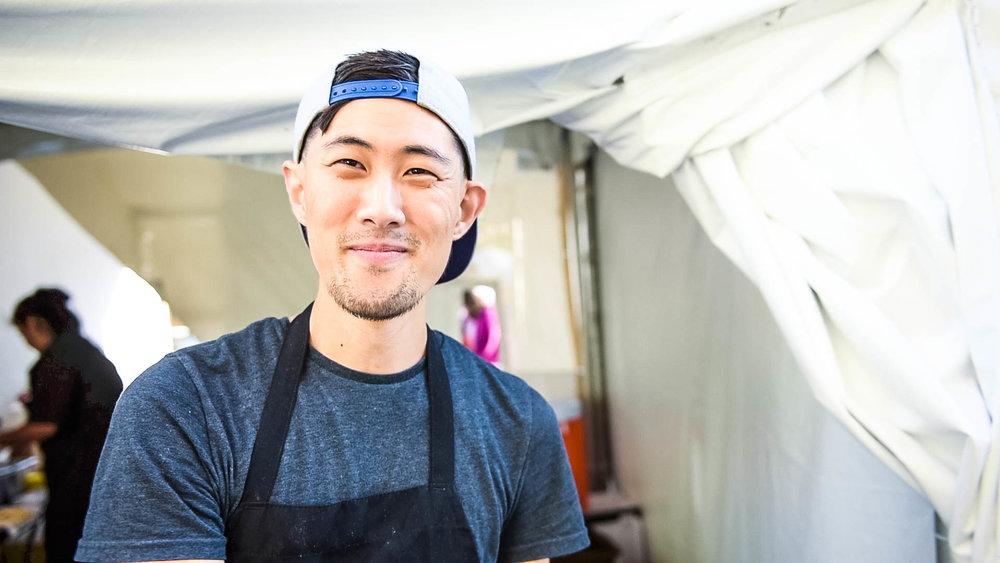 Tim Chung, a cook at Baohaus.
