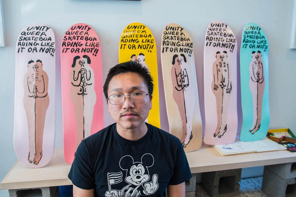 Jeffrey Cheung, artist and co-founder of Unity Mart.