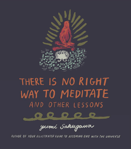 Yumi's third book encourages readers to practice mindfulness. Source:  Yumi Sakugawa .