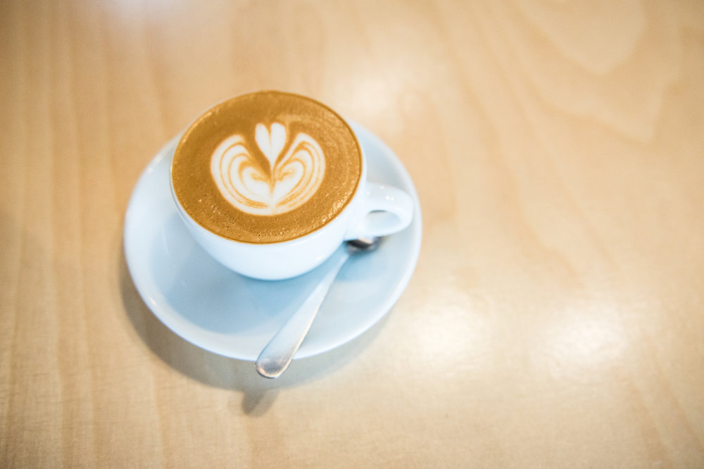 This cappuccino not only tastes delicious but also gives back to the community.