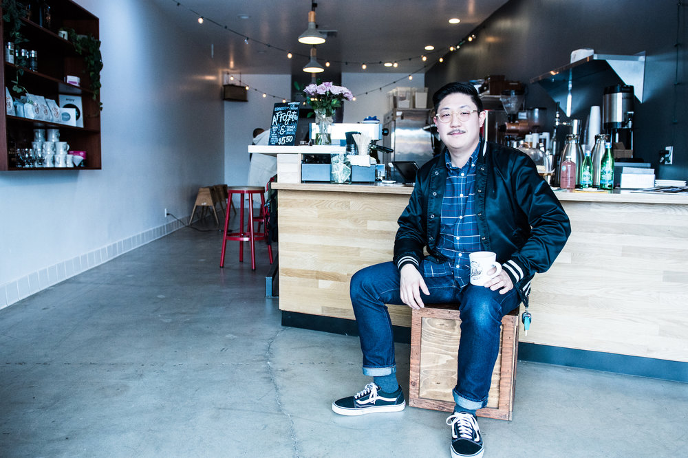 Thomas Kong, brand manager at House Roots Coffee, is passionate about giving back to his home city: the Valley.