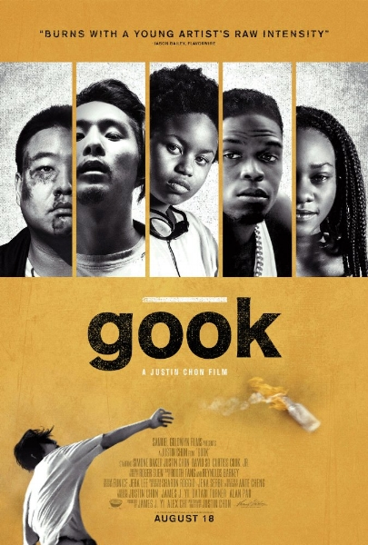 The poster for  Gook . Source:  IMDb .