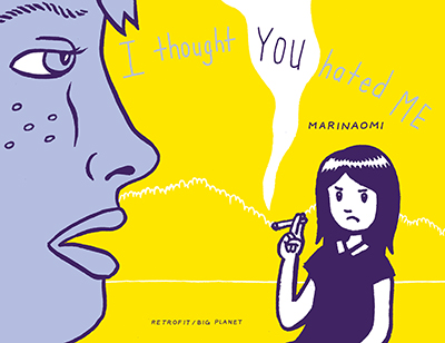 Mari's book I thought YOU Hated ME explores female friendship. Source: MariNaomi.