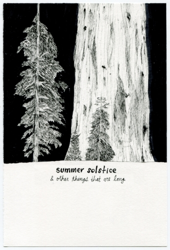 Summer Solstice & other things that are long  explores memories. Courtesy of Tony Hoang.