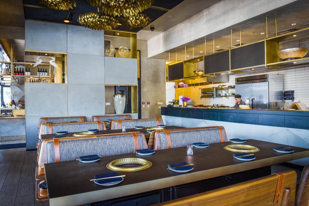 The YakiYan dining room.