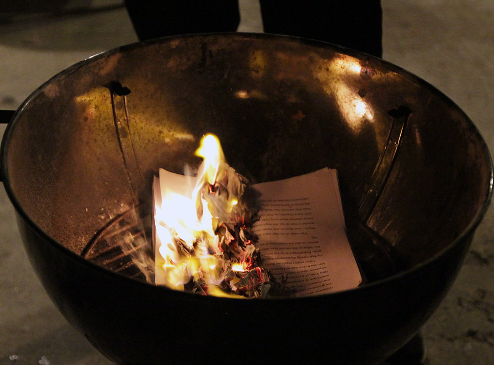 The book that was written and burned. Chiwan Choi's Ghostmaker. Source: katzsdeli.org
