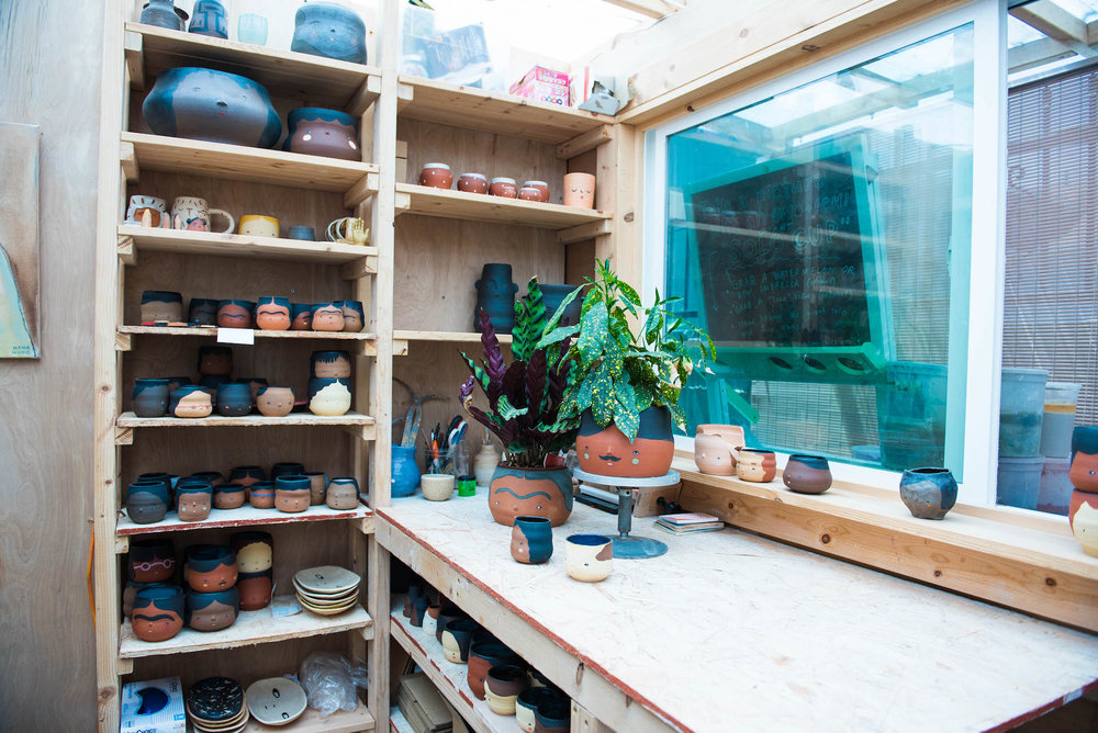 The Uno+Ichi studio.