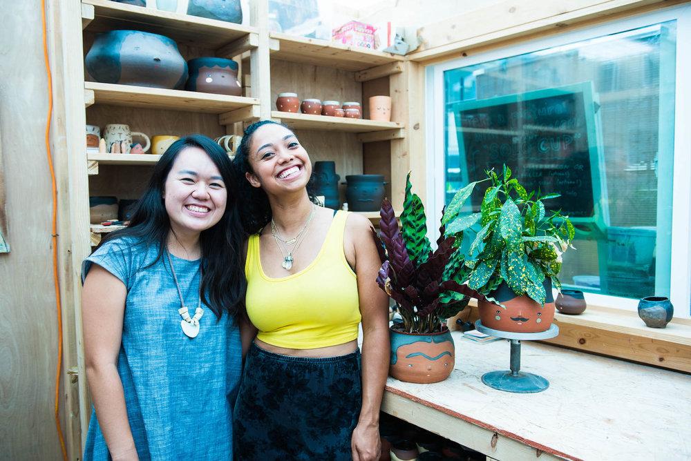 Joanna (left) and Hana (right) of Uno+Ichi.
