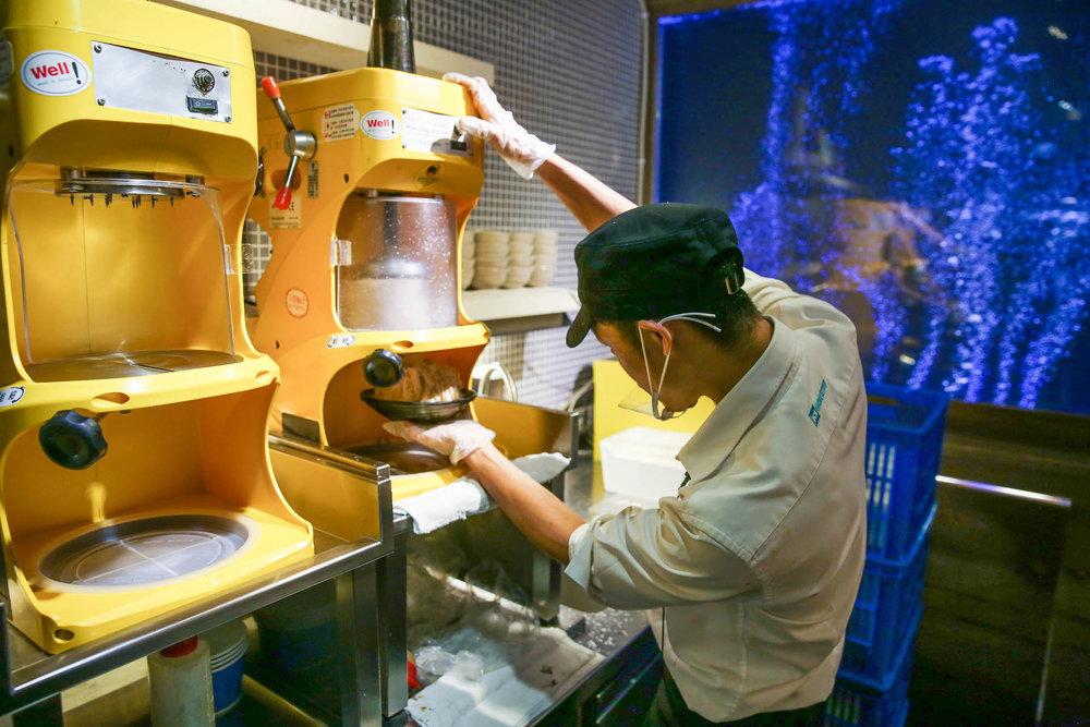 這是羅駿樺先生協助廠商一起研發出來的機器,現在在全世界發行。