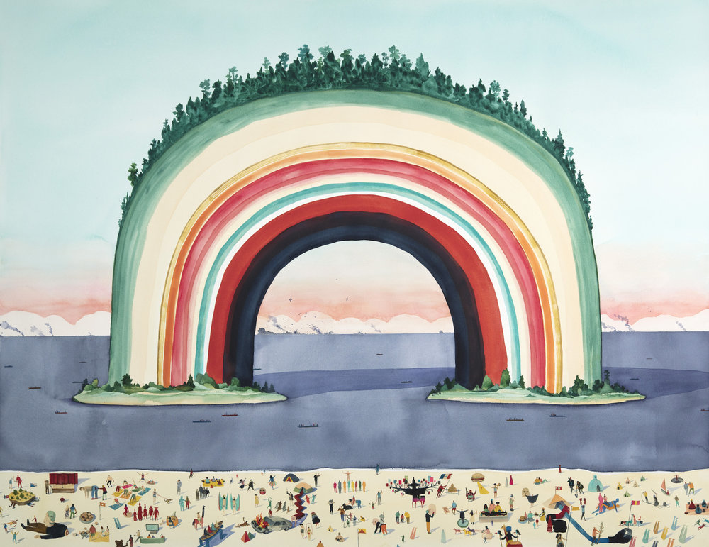 Everything is Happening All at Once All the Time for Every Reason by Rob Sato.