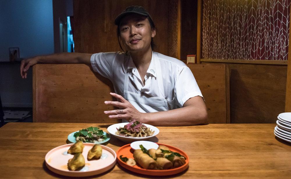 Chef Jonathan Wu of Nom Wah Tu.