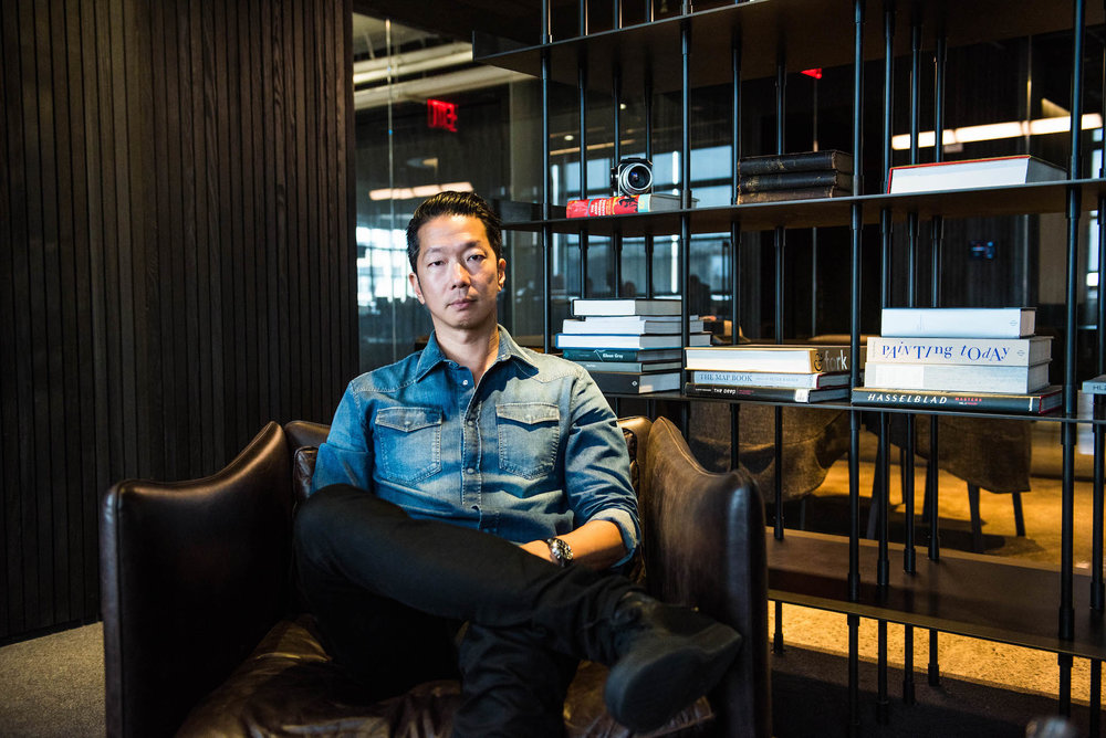 Squarespace's CCO David Lee is responsible for leading the creative team that works on brand design and product design.