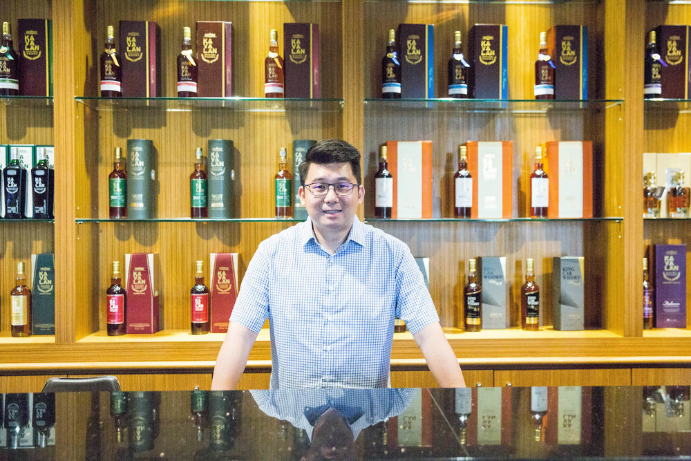 Ian Chang, The Master Bartender of Kavalan.