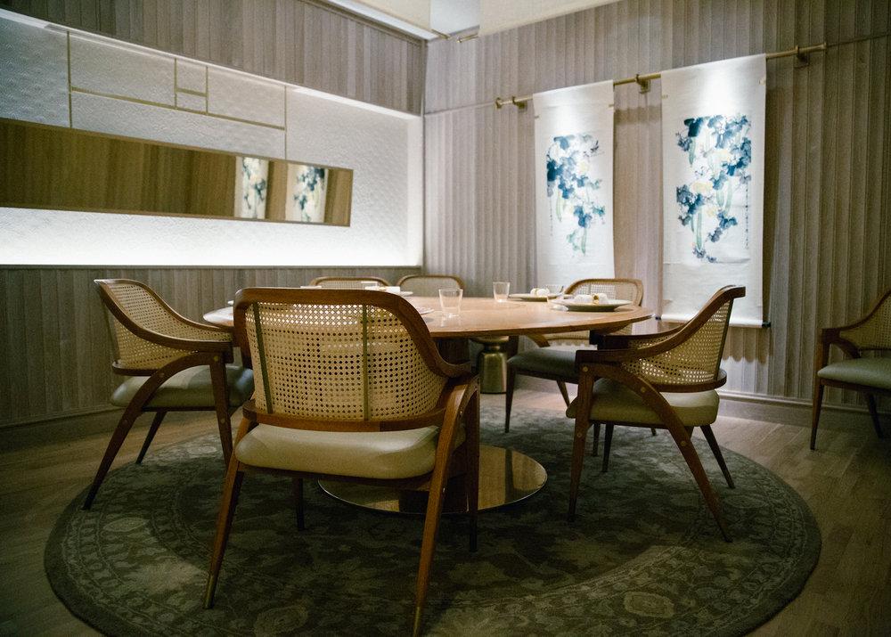 A dining table that evokes feelings of nostalgia.