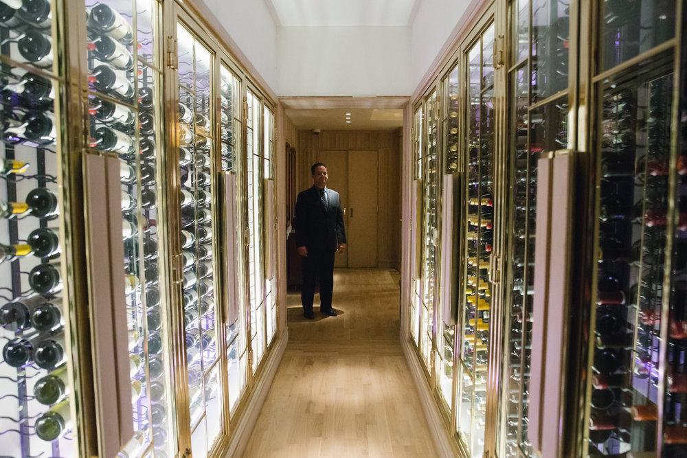 Hall of wines
