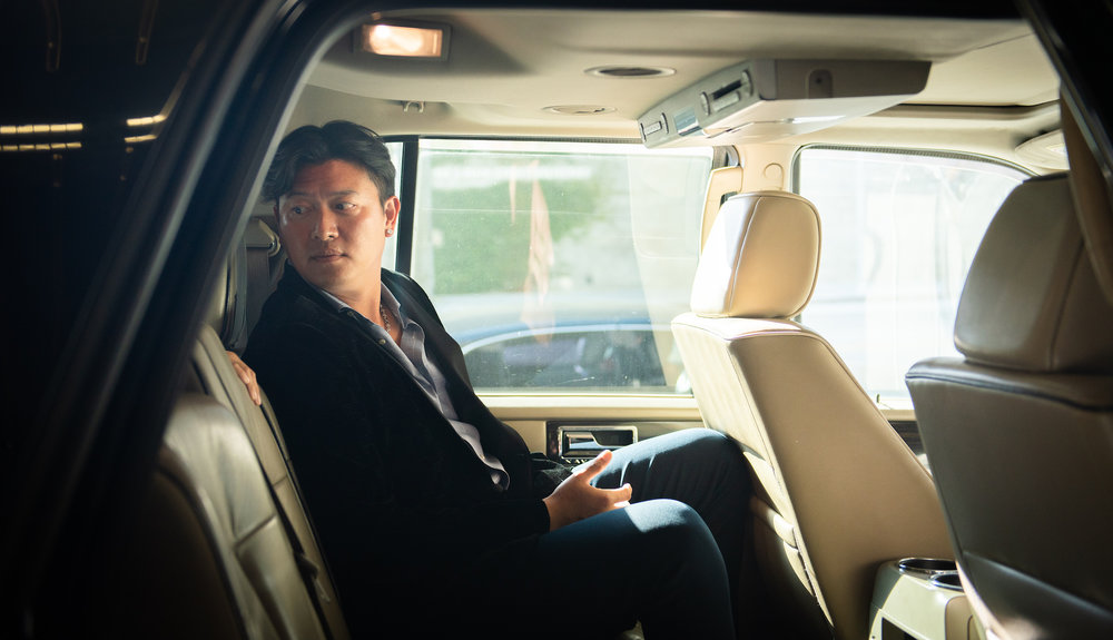 "Chien-Ming Wang heads to the premiere of his documentary ""Late Life: The Chien-Ming Wang Story."""