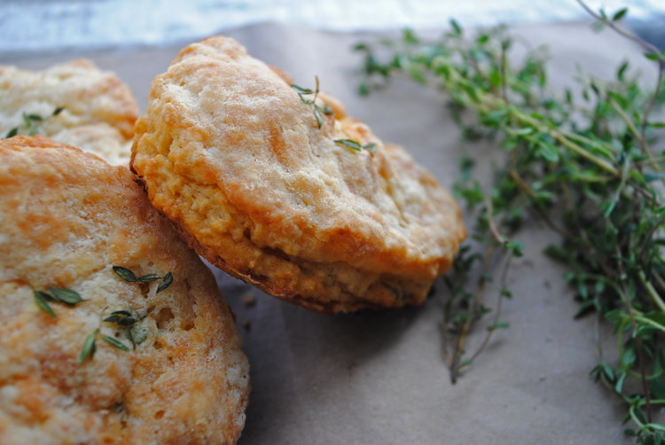 Honey + Thyme Biscuits