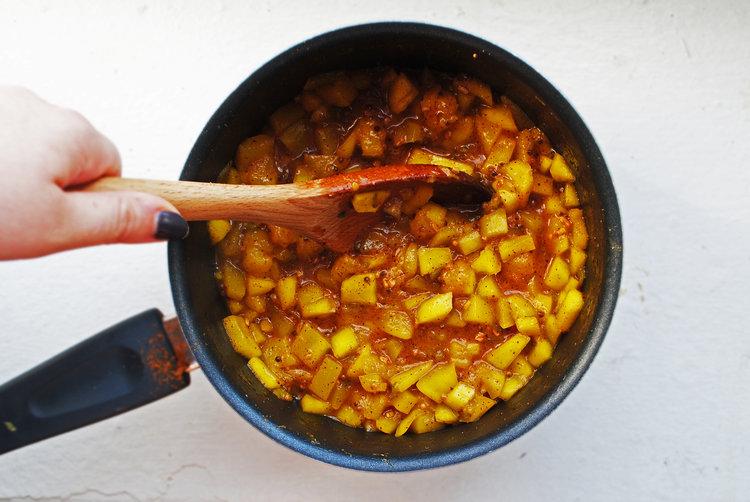Amba (Savory Mango Sauce)