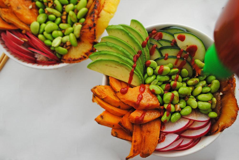 Vegan Poke Bowls