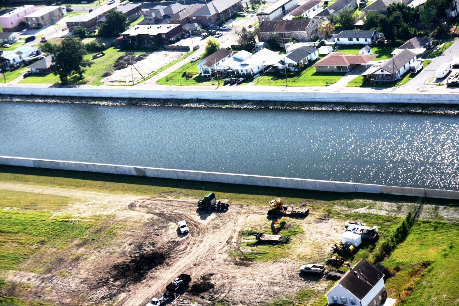 17th Street Canal and Levees New Orleans prevention