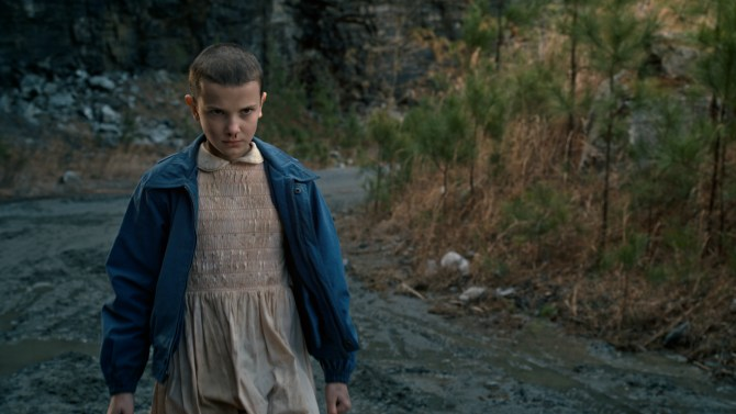 Courtesy of variety.com Eleven, a character portrayed by Millie Bobbie Brown, is a young girl capable of great destruction, born of an experiment gone awry.