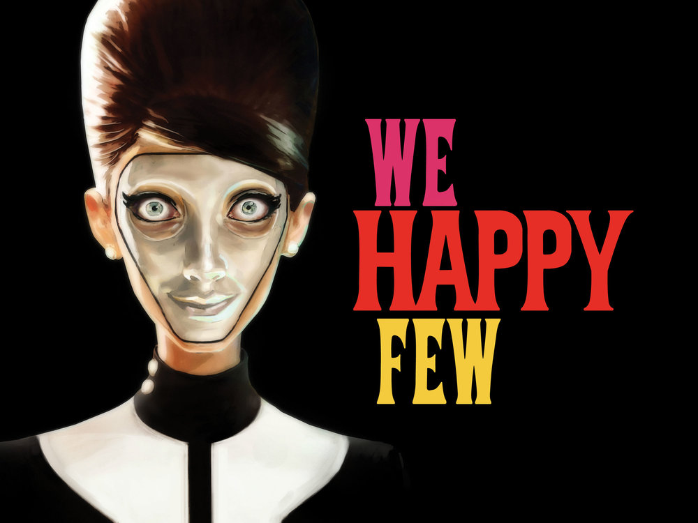 We Happy Few welcomes gamers into an alternative world where happiness is distributed by the use of a Joy pill, and those on the outskirts of society are Downers.