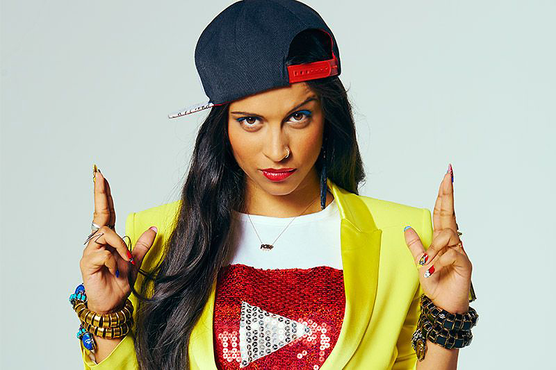 COURTESY OF CANADIANBUSINESS.COM Lilly Singh, the Superwoman of Youtube.