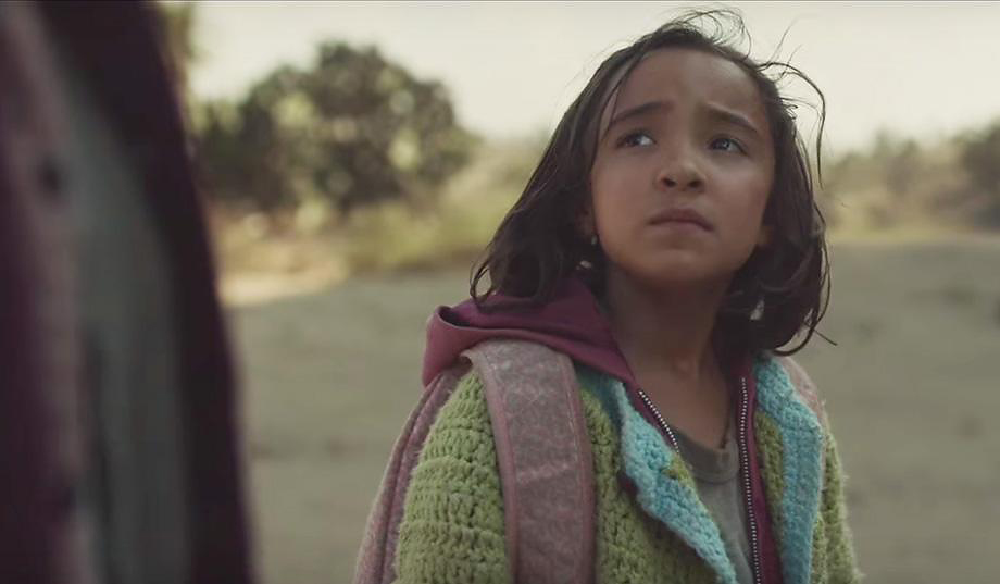 84 Lumber Ad shows a mother and her child on their journey to America.   PHOTO COURTESY OF POPSUGAR.COM